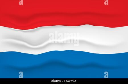 Flag of Netherlands - Stock Photo