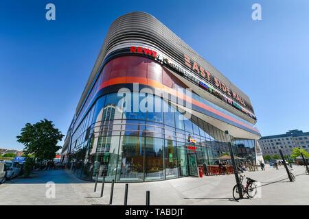East Side Mall, Tamara Danz street, Friedrich's grove, Berlin, Germany, Tamara-Danz-Straße, Friedrichshain, Deutschland - Stock Photo