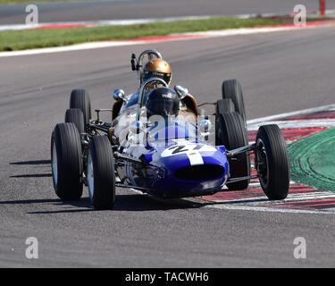 Richard Wilson, Lotus 27, FJHRA, HSCC, FJ Championship Rear Engined Grid, Formula Junior Historic Racing Association, Historic Sports Car Club, HSCC,  - Stock Photo