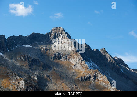 Austria, Salzburg State, High Tauern National Park, Zillertal Alps, mountainscape - Stock Photo