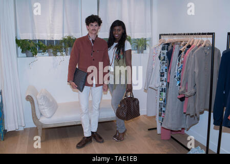 Boutique agnès b. , 1 rue de Chaillot, 75016 Paris France - Stock Photo