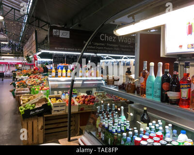 Marché des Enfants Rouges, Paris, France - Stock Photo
