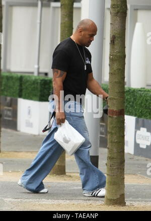 Liverpool,Uk Jonah Lomu spotted in the city credit Ian Fairbrother/Alamy Stock Photos - Stock Photo