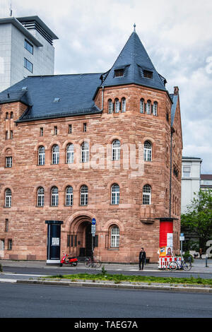 Faculty of Music Of the University of the Arts Building In Charlottenburg Berlin. . Former Institute for Sacred Music. Historic listed building - Stock Photo