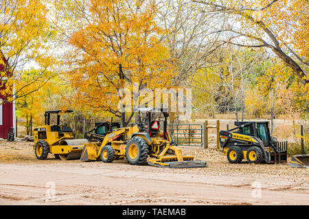 DENVER, COLORADO - May 23, 2019: Closing the China market has left farmers with huge surpluses. U.S farmers have long depended on foreign buyers for s - Stock Photo