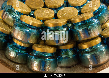 Vivid decorative blues. Background pattern. - Stock Photo