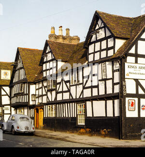 The Kings Arms, Ombersley, Worcestershire 1982 - Stock Photo