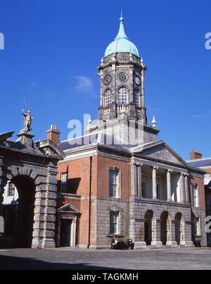 Bedford Hall, The Great Courtyard, Dublin Castle, Dame Street, Temple Bar, Dublin, Leinster Province, Republic of Ireland - Stock Photo