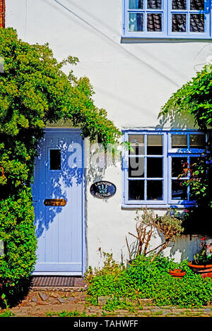 Lavender Cottage, High Church Wynd, Yarm on Tees, North East England - Stock Photo