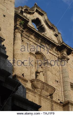 Saint Francis of Assisi Basilica, Old Havana, Cuba - Stock Photo