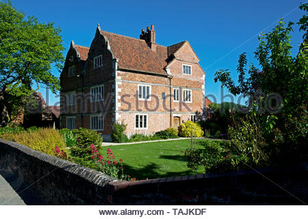 The Old Hall, Knedlington, near Howden, East Yorkshire, England UK - Stock Photo
