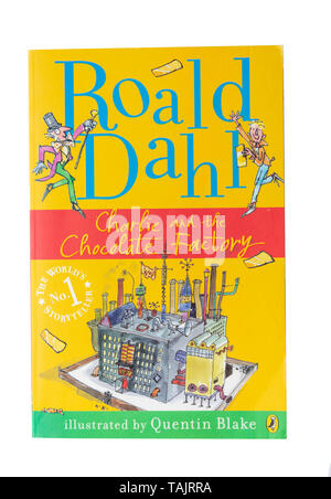 Roald Dahl's 'Charlie and the Chocolate Factory' children's book, Greater London, England, United Kingdom - Stock Photo