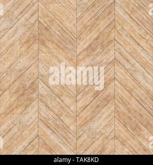 Parquet Chevron Bleached Oak Seamless Floor Texture Or