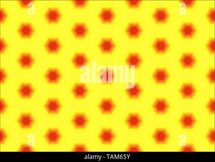 Abstract background of hexagons background. Pattern Seamless texture. - Stock Photo
