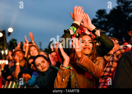 Napa, California, May 25, 2019,  A sold out crowd thoroughly enjoyed the wide variety of day 2 performances on the venues 5 stages at the 2019 Bottle Rock Festival, Day 2 BottleRock Credit: Ken Howard/Alamy Credit: Ken Howard/Alamy Live News - Stock Photo