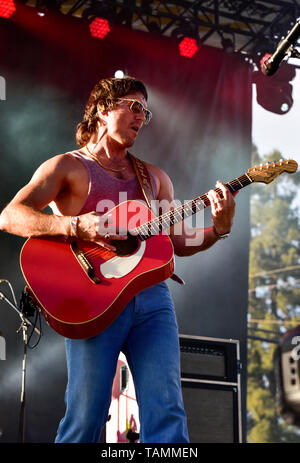 Napa, USA. 26th May, 2019. Napa, California, May 26, 2019, Midland on stage at the 2019 Bottle Rock Festival, Day 1 BottleRock Credit: Ken Howard/Alamy Live News - Stock Photo