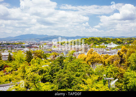 View over Kyoto Japan - Stock Photo