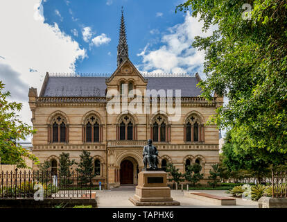 The Mitchell Building, University of Adelaide, Southern Australia on a sunny day - Stock Photo