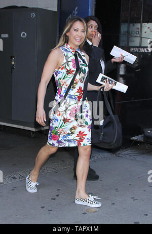 New York, USA. 27th May 2019. Ginger Zee of Good Morning America in New York New York, USA. 27th May 2019. Credit:RW/MediaPunch Credit: MediaPunch Inc/Alamy Live News