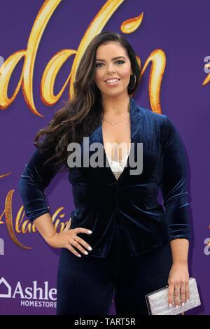 May 21, 2019 - Los Angeles, CA, USA - LOS ANGELES - MAY 21:  Miranda May at the ''Aladdin'' Premiere at the El Capitan Theater on May 21, 2019 in Los Angeles, CA (Credit Image: © Kay Blake/ZUMA Wire) - Stock Photo