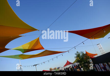 Los Angeles, California, USA 27th May 2019  A general view of atmosphere at We Rise LA on May 27, 2019 at 1262 Palmetto Street in Los Angeles, California, USA. Photo by Barry King/Alamy Live News - Stock Photo
