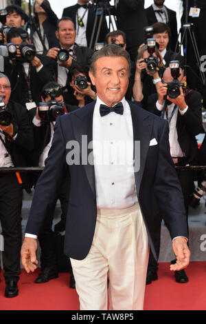 CANNES, FRANCE. May 25, 2019: Sylvester Stallone at the Closing Gala premiere of the 72nd Festival de Cannes. Picture: Paul Smith / Featureflash - Stock Photo