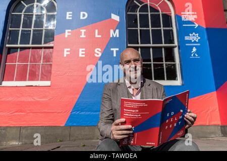 Edinburgh, UK. 29th May, 2019. Artistic Director, Mark Adams launches the 2019 Edinburgh International Film Festival at the Filmhouse. The festival runs from 19 June to 30th June Credit: Rich Dyson/Alamy Live News - Stock Photo