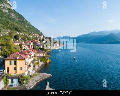 Village on lake of Como. Italy