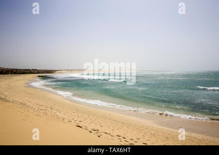 20.02.2019, Sal Rei, Boa Vista, Cape Verde Islands - Praia de Chaves, sandy beach. 00X190220D020CAROEX.JPG [MODEL RELEASE: NOT APPLICABLE, PROPERTY RE - Stock Photo