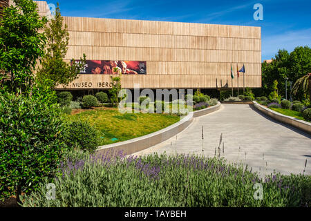 Exterior view The Iberian Museum. Jaén, southern Andalusia. Spain Europe - Stock Photo