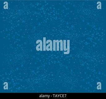Vector illustration. Blue background plain simulating a starry night. - Stock Photo
