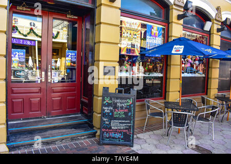 Orlando, Florida . December 24, 2018. Nice Humberger Mary's at Church Street Station in Orlando Downtown area. - Stock Photo