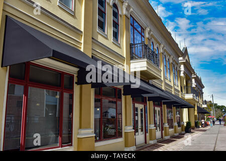 Orlando, Florida . December 24, 2018. Vintage building at Church Street Station area in Orlando Downtown. - Stock Photo