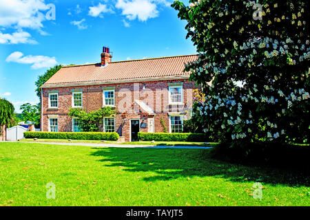 Green Hammerton, North Yorkshire, England - Stock Photo