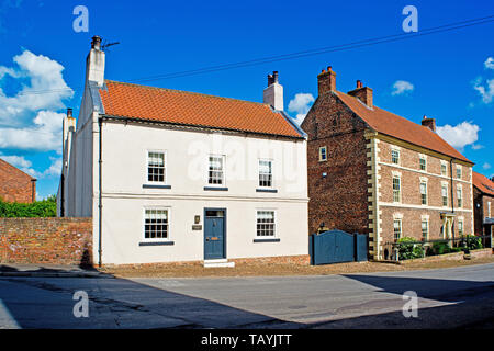 Helperby, North Yorkshire, England - Stock Photo