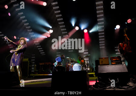 Greta Van Fleet perform in Toronto, CANADA - Stock Photo