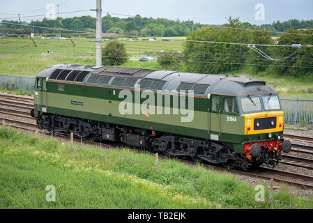 D1944 diesel locomotive Craftsman at Winwick - Stock Photo