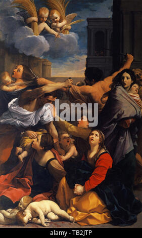 Guido Reni - Massacre Innocents 1611 - Stock Photo