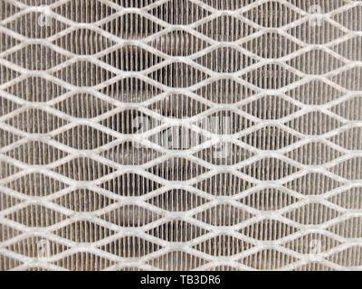 Grill of old window air conditioner. Seamless pattern. Abstract background concept. - Stock Photo
