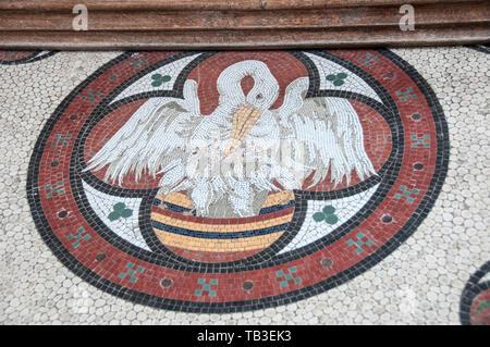 St Mary & St. Andrew Church, Grantchester, UK - Stock Photo