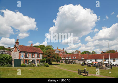 East Dean, Sussex, UK - Stock Photo