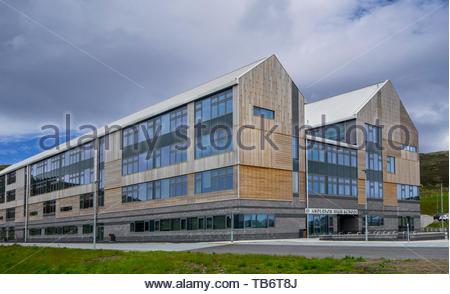 Anderson High School / AHS, comprehensive secondary school in Lerwick, Shetland Islands, Scotland, UK - Stock Photo