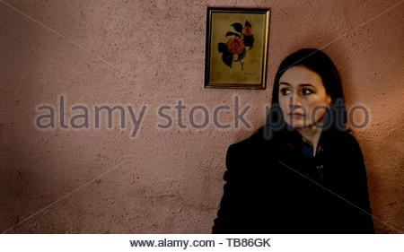 EMILY MORTIMER in HARRY BROWN (2009). Copyright: Editorial inside use only. This is a publicly distributed handout. Access rights only, no license of copyright provided. Mandatory authorization to Visual Icon (www.visual-icon.com) is required for the reproduction of this image. Credit: MARV FILMS/UK FILMS COUNCIL / Album - Stock Photo