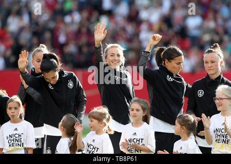 firo: 30.05.2019, Football, Landerspiel, Test Game Women, Germany - Chile, | usage worldwide - Stock Photo