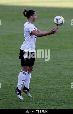 Regensburg, Deutschland. 30th May, 2019. firo: 30.05.2019, Football, Landerspiel, Test Game Women, Germany - Chile, | usage worldwide Credit: dpa/Alamy Live News - Stock Photo