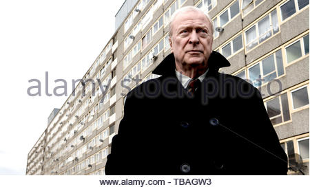 MICHAEL CAINE in HARRY BROWN (2009). Copyright: Editorial inside use only. This is a publicly distributed handout. Access rights only, no license of copyright provided. Mandatory authorization to Visual Icon (www.visual-icon.com) is required for the reproduction of this image. Credit: MARV FILMS/UK FILMS COUNCIL / Album - Stock Photo