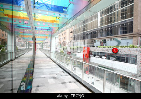 Commercial streets all over China. - Stock Photo