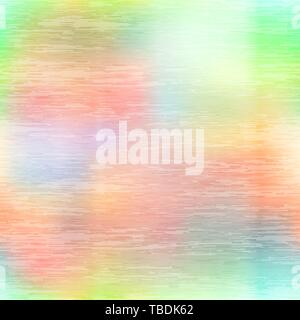 Glossy metallic foil texture with holographic glow seamless pattern - Stock Photo