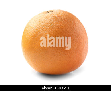 Tasty grapefruit on white background - Stock Photo