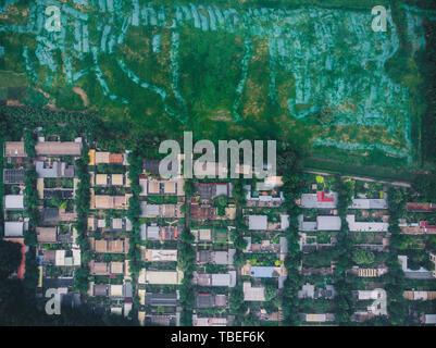 Changping aerial shot - Stock Photo